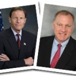 Senator Richard Blumenthal and Attorney General George Jepsen